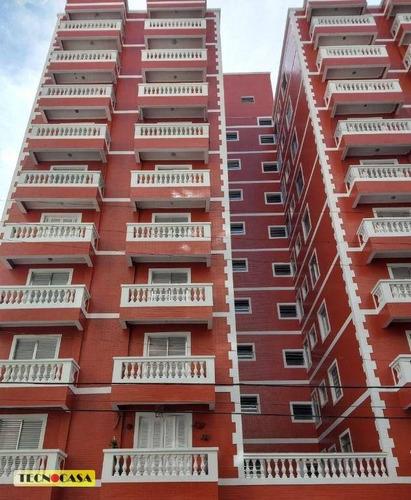 Imagem 1 de 25 de Apartamento Com 1 Dormitório Para Alugar, 56 M² Por R$ 1.100,00/mês - Ocian - Praia Grande/sp - Ap6697
