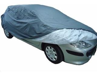 Cubre Auto Premium Afelpado De Cuero Ecologico Talle L - Xl