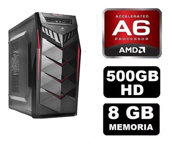 Pc Gamer Amd A6 7480 8gb Ram + Brinde