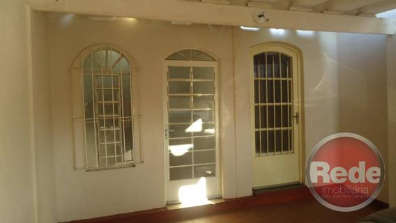 Casa Com 3 Dormitórios Para Alugar, 170 M² Por R$ 1.500,00 - Vila Industrial - São José Dos Campos/sp - Ca0457