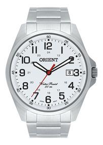 Relógio Orient Masculino Ref: Mbss1171 S2sx Casual Branco Nf