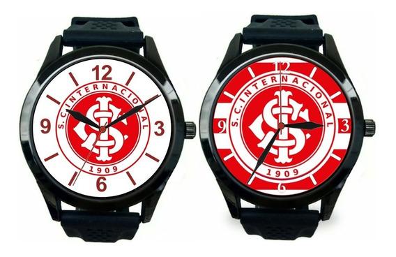 Kit 2 Relógios Pulso Esportivo Internacional Personalizado