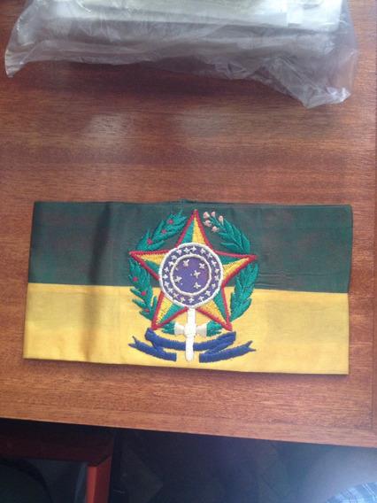 Faixa Militar Exército Antigo Brasão República Eub Brasil