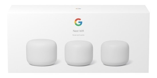 Google Nest Wifi Mesh Router Ac2200 Modelo 2019 Nuevo Kit X3