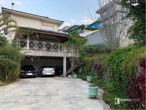 Imagem 1 de 30 de Casa Com 4 Dormitórios À Venda, 415 M² Por R$ 1.900.000,00 - Moinho Velho - Cotia/sp - Ca0657
