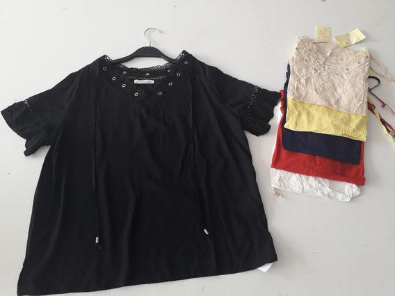 Blusa Plus Size Cordão Tamanho Grande Moda Evangelica