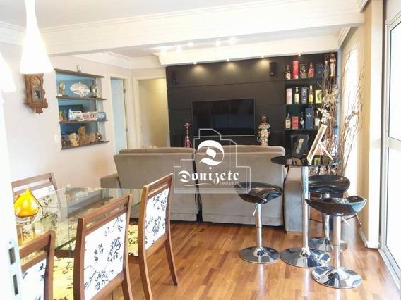 Apartamento Com 3 Dormitórios À Venda, 106 M² Por R$ 745.000,00 - Casa Branca - Santo André/sp - Ap14158