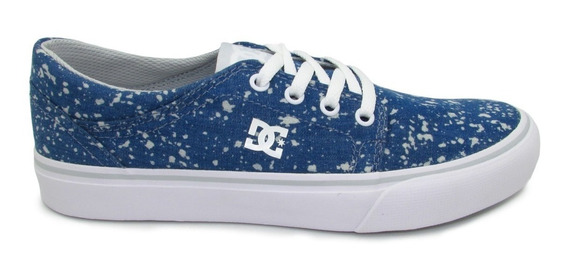 Tenis Dc Shoes Trase Tx Se Youth Adgs300060 Dnm Denim Azul