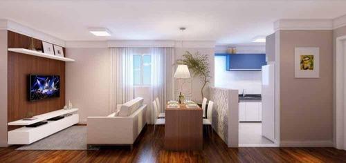 Imagem 1 de 20 de Apartamento Com 2 Dormitórios À Venda, 44 M² Por R$ 175.000,00 - Parque João Ramalho - Santo André/sp - Ap12639