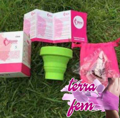Copa Menstrual 10pz + Vaso Esterilizador 10pz