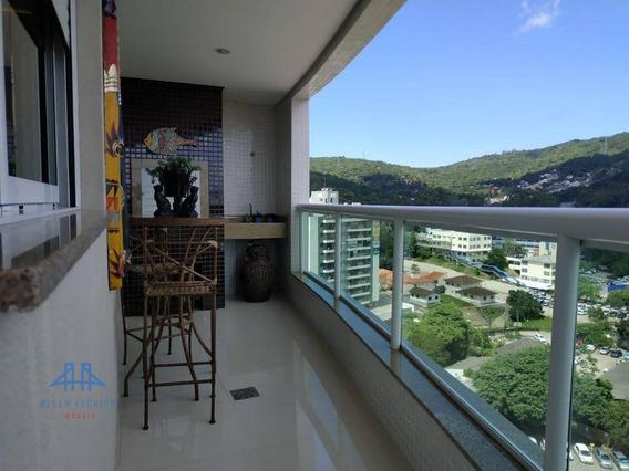 Apartamento Com 4 Dormitórios À Venda, 129 M² Por R$ 1.250.000 - Itacorubi - Florianópolis/sc - Ap2354