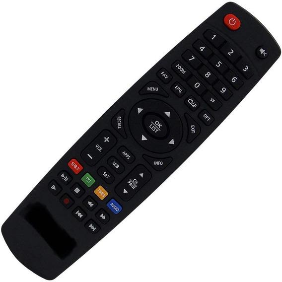 3 Un - Controle Remoto D/u/o Funciona Todos Modelos 100% Tv