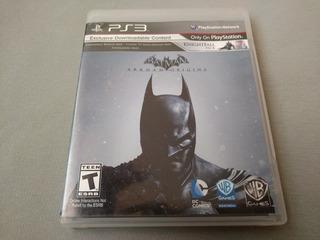 Batman Arkham Origins Para Ps3