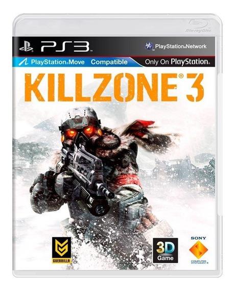 Killzone 3 Ps3 Mídia Física Pronta Entrega
