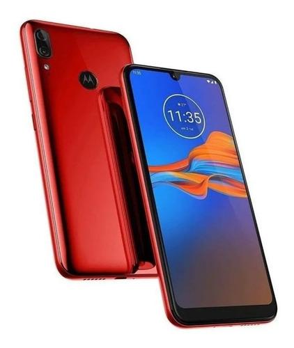 Telefone Celular Moderno Motorola 32 Gb Vermelho