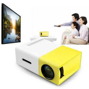 Data Show Mini Projetor Led 600l Full Hd 1080p Hdmi Av Usb