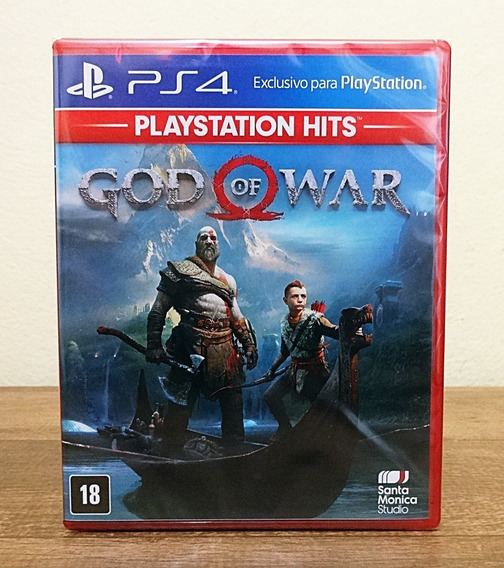 God Of War Ps4 Cd Novo Lacrado Português