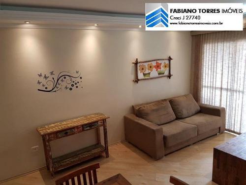 Apartamento Para Venda Em São Bernardo Do Campo, Jardim Do Mar, 2 Dormitórios, 2 Suítes, 2 Banheiros, 2 Vagas - 1717_2-789339
