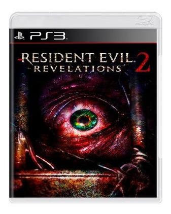 Jogo Resident Evil Revelations 2 - Ps3 Mídia Física