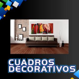 Cuadro Vinil Decorativo Con Montaje Mdf