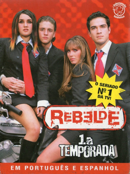 Box Rbd Rebelde - 1º Temporada - Usado Em Bom Estado***
