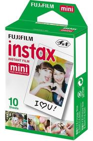 Filme P/ Instax Mini 8 9 7s 90 Polaroid 300 C/ 10 Fotos
