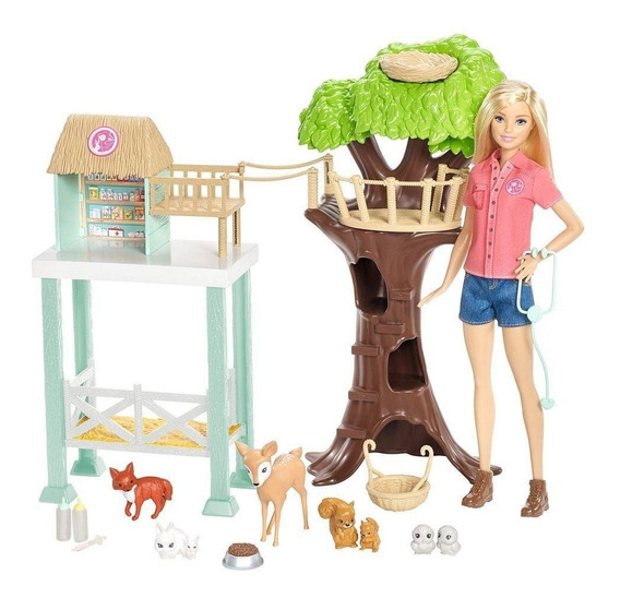 Barbie Profissões Cuidadora De Bichinhos Mattel - Fcp78