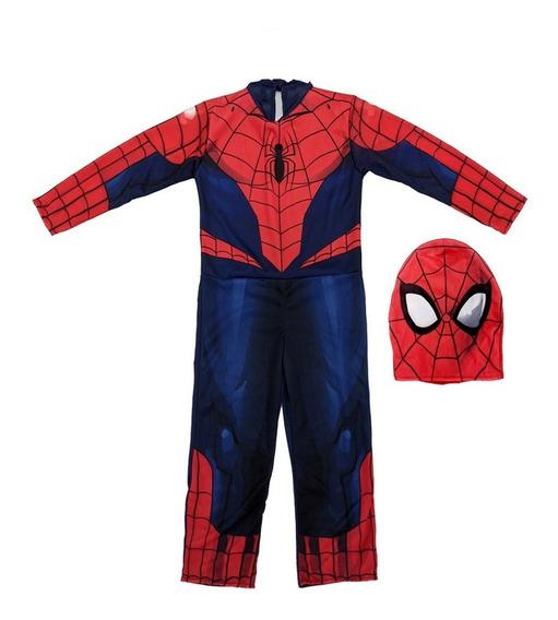 Disfraz Spiderman Hombre Araña Marvel Original New Toys