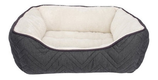 Cama Moises Rectangular Cuddle Bed Dogit Gris/blanco