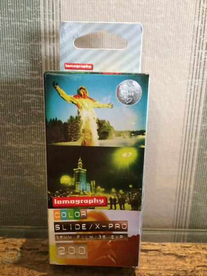 Filme 35mm Lomography Iso 200 Com 36 Exp 3 Unid Slide/x-pro