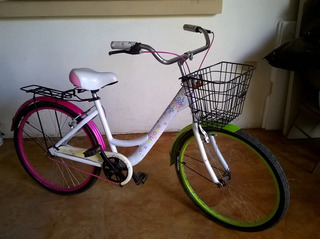 Bicicleta De Ciudad Urbana Mujer Rodada 26