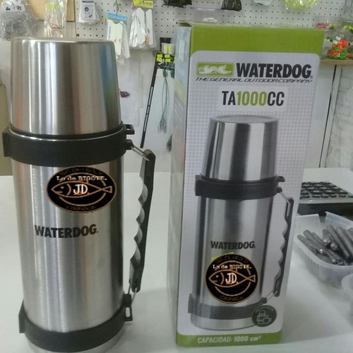 Termo De Acero Inoxidable 1 Litro Waterdog Ta1000cc