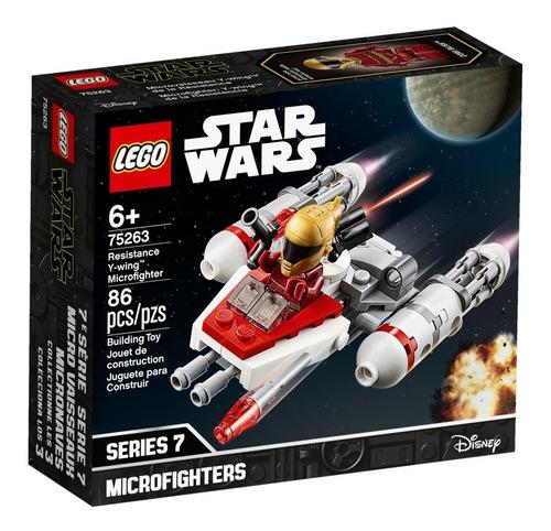 Lego Star Wars Microfighter 75263: Ala-y De La Resistencia