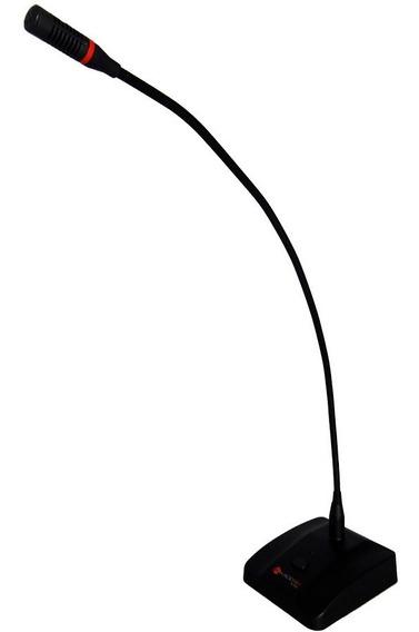 Microfone Kadosh Gooseneck K-353 De Mesa Haste 60cm