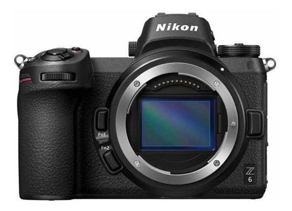 Câmera Nikon Z6 Corpo Com Adaptador