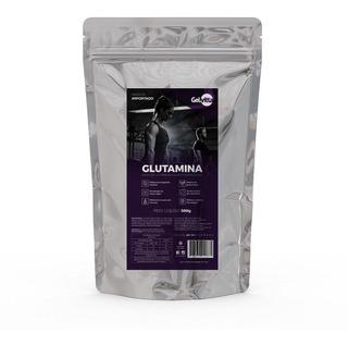 Glutamina Pura Em Pó 500g L-glutamina Gelvitta