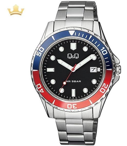 Relógio Q&q By Japan Masculino A172j222y Com Nf