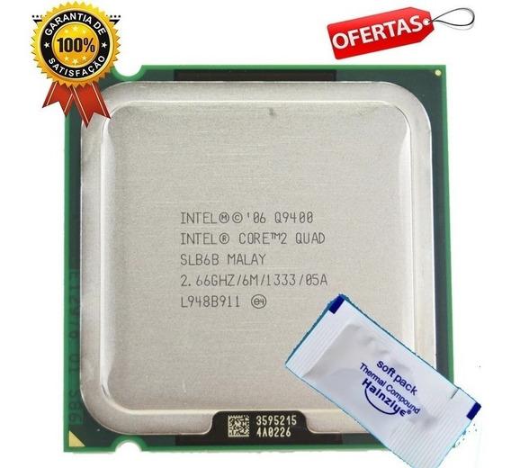 Original Intel 775 Core 2 Quad Q9400 2,66ghz + Pasta Térmic