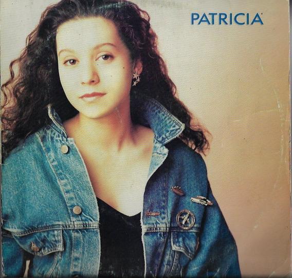 Disco De Vinil Lp Patrícia Marx 1988 Patrícia Rca C/ Encarte