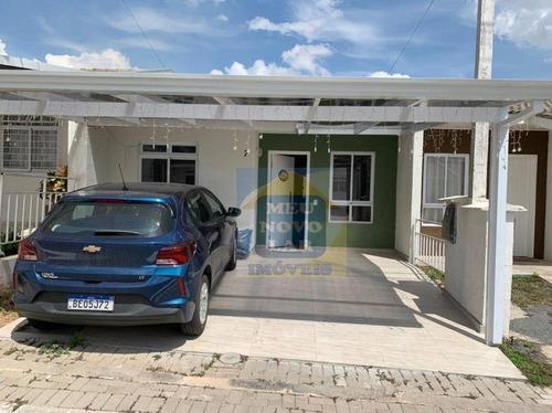 Casa Com 2 Dormitórios À Venda, 85 M² Por R$ 280.000,00 - Capela Velha - Araucária/pr - Ca0452