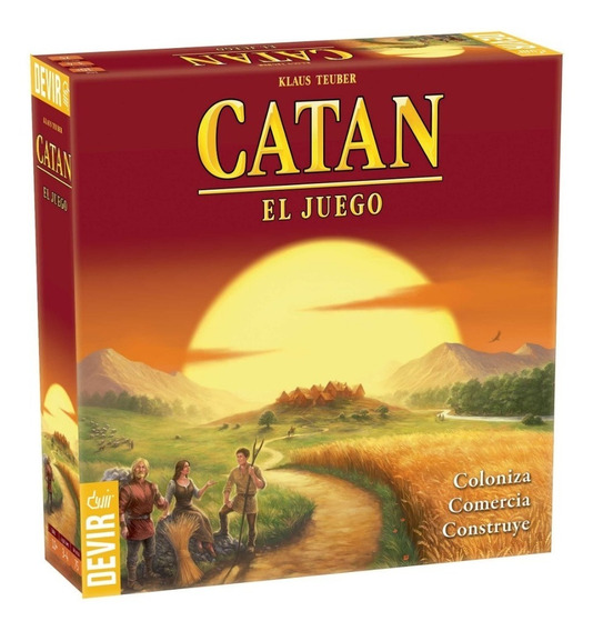 Juego Catan Básico En Español - 2018 Original / Diverti