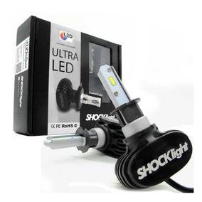 Kit Ultraled Ultra Led Shocklight Xênon Lâmpada H1 6000k