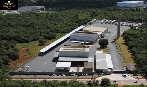Excelente Em Galpão Em Área Industrial:  Área De Terreno   23.000 M²  Área Construída  5.250  M² - Gl00004 - 34803640