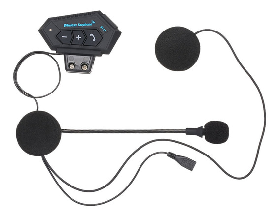 Audífonos Inalámbricos Bluetooth Para Casco De Motocicleta