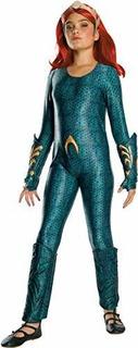 Rubie S Niñas Aquaman Pelicula Disfraz Infantil De Deluxe Me