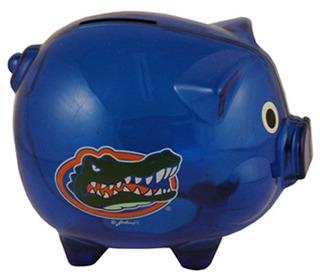 Ncaa Florida Gators Plastic Piggy Bank