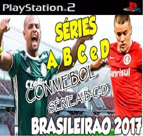 Bomba Patch Conmebol 2017 Brasileiro Série A B C D Play2