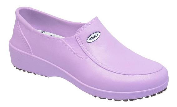Sapato Lady Works Profissional Calçado Eva Soft Works Bb95