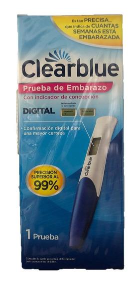Clearblue Prueba De Embarazo Digital 1 Unidad, Dama Embarazo