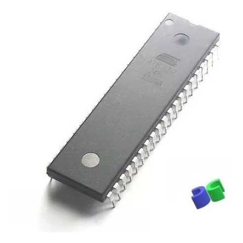10pç - Microcontrolador At89s52-24pu Dip-40 Atmel - 89s52*